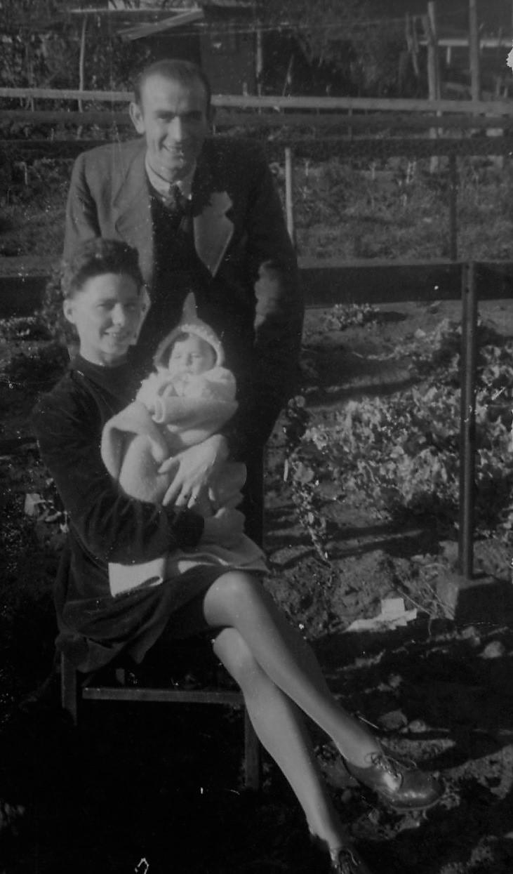 Pa en Ma met Hillie